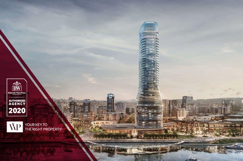 Apartments in our offer within the project Belgrade Waterfront